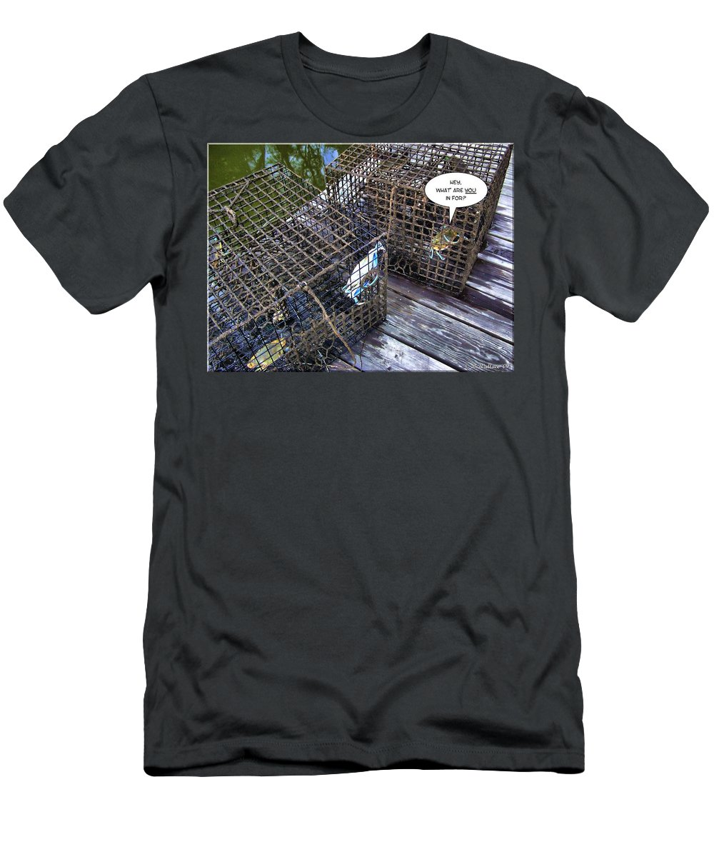 2d Men's T-Shirt (Athletic Fit) featuring the photograph Incarceration by Brian Wallace