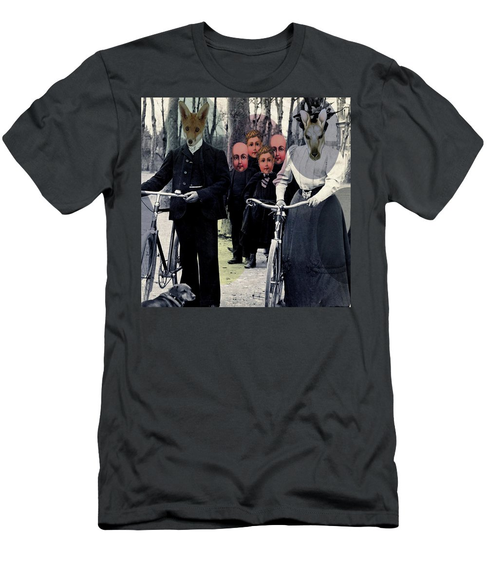 Digital Art Men's T-Shirt (Athletic Fit) featuring the digital art Incognito by Suzanne Carter