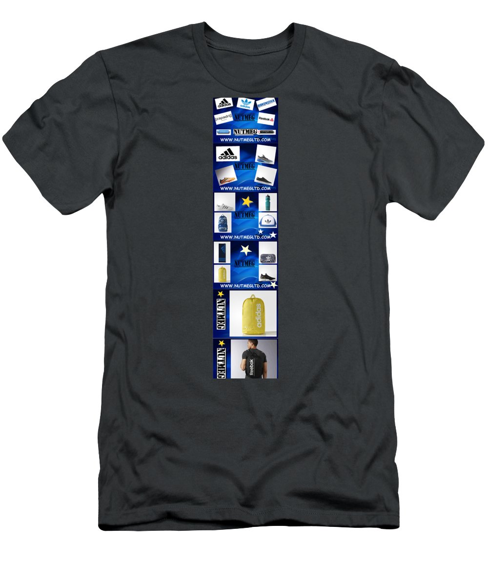 Infographic Men's T-Shirt (Athletic Fit) featuring the photograph Info Sports Art by Heinz Rainer