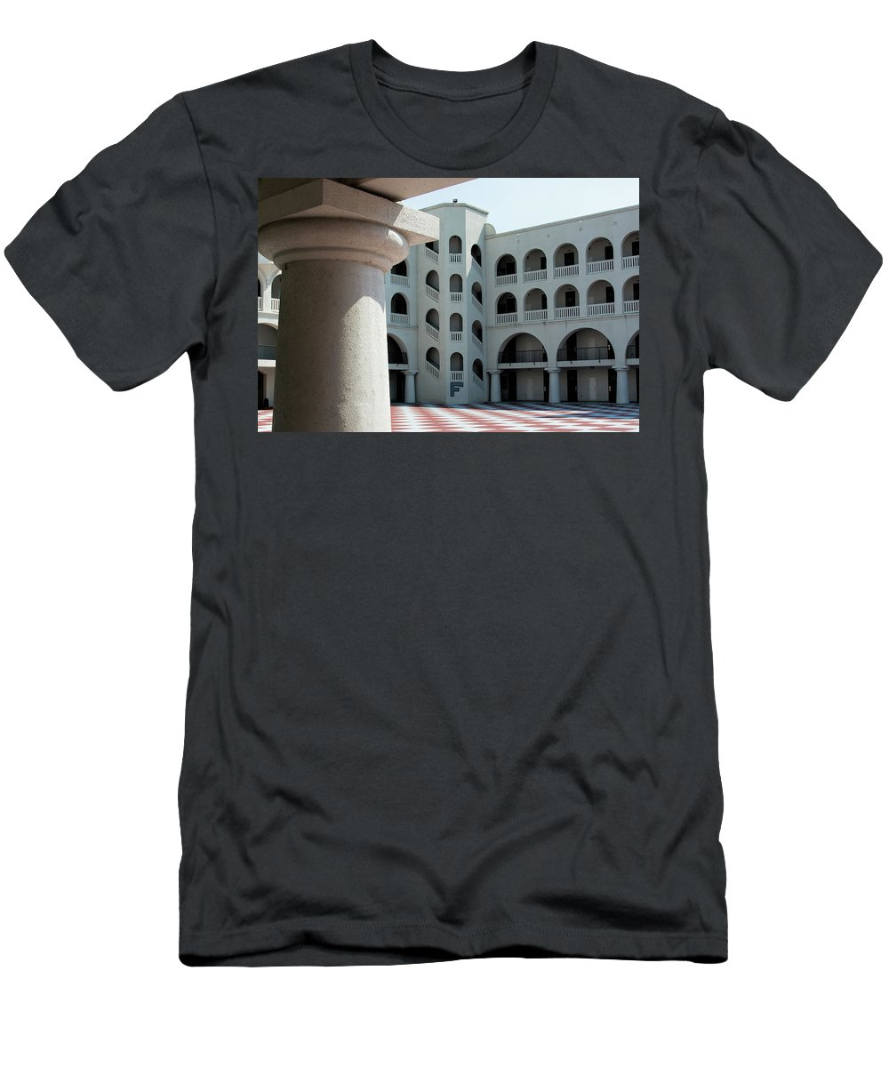 Padgett-thomas Men's T-Shirt (Athletic Fit) featuring the photograph Inner Sanctum by Ed Waldrop