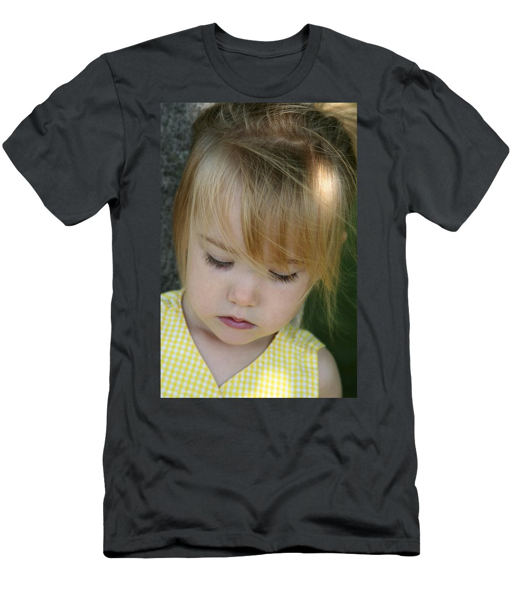Angelic Men's T-Shirt (Athletic Fit) featuring the photograph Innocence II by Margie Wildblood
