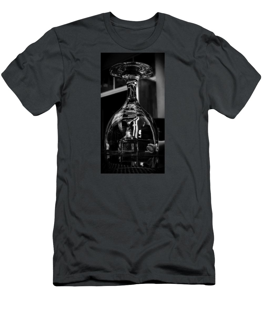 Beverly Men's T-Shirt (Athletic Fit) featuring the photograph Inverted Anticipation by Vincent Asbjornsen