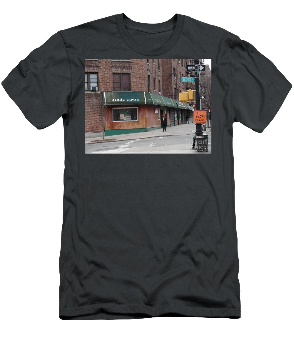 Irish Eyes Men's T-Shirt (Athletic Fit) featuring the photograph Irish Eyes by Cole Thompson