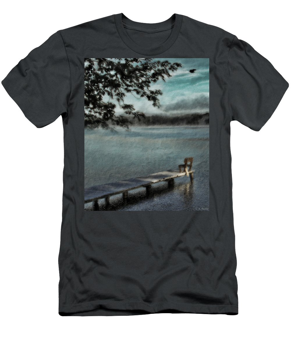 Lauren Radke Men's T-Shirt (Athletic Fit) featuring the photograph It Was Just A Dream by Lauren Radke