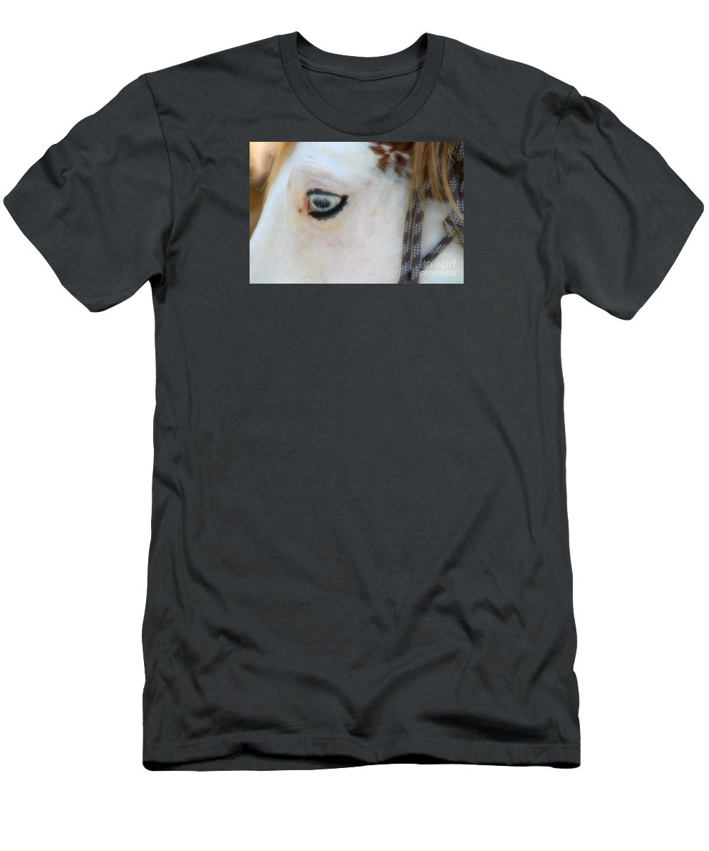 Horse Men's T-Shirt (Athletic Fit) featuring the photograph Jack by Amy Steeples