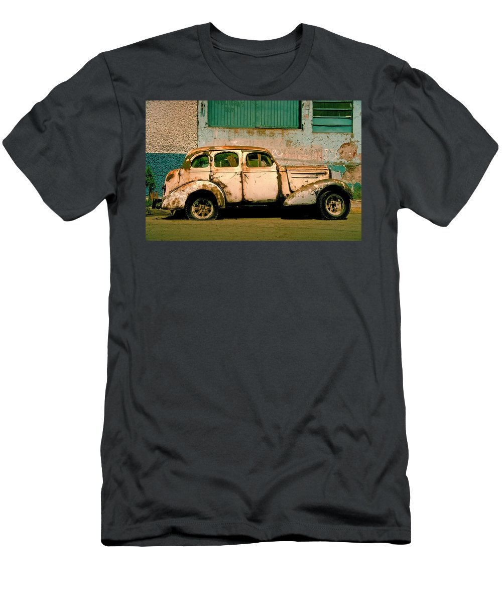 Skip T-Shirt featuring the photograph Jalopy by Skip Hunt