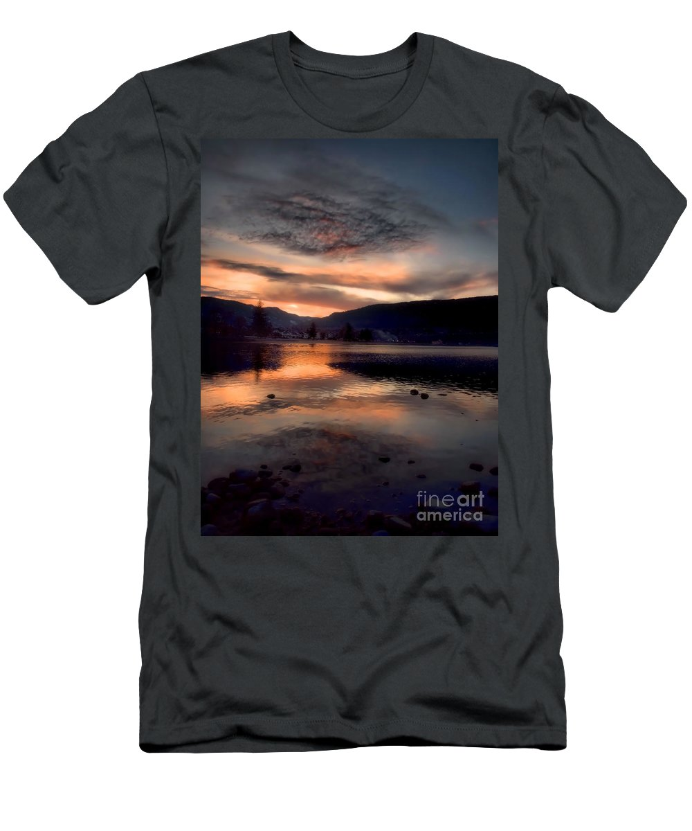 Clouds Men's T-Shirt (Athletic Fit) featuring the photograph January 16 2010 by Tara Turner