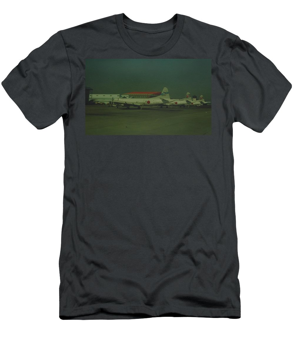 Airplane Men's T-Shirt (Athletic Fit) featuring the photograph Japanese Airforce by Rob Hans
