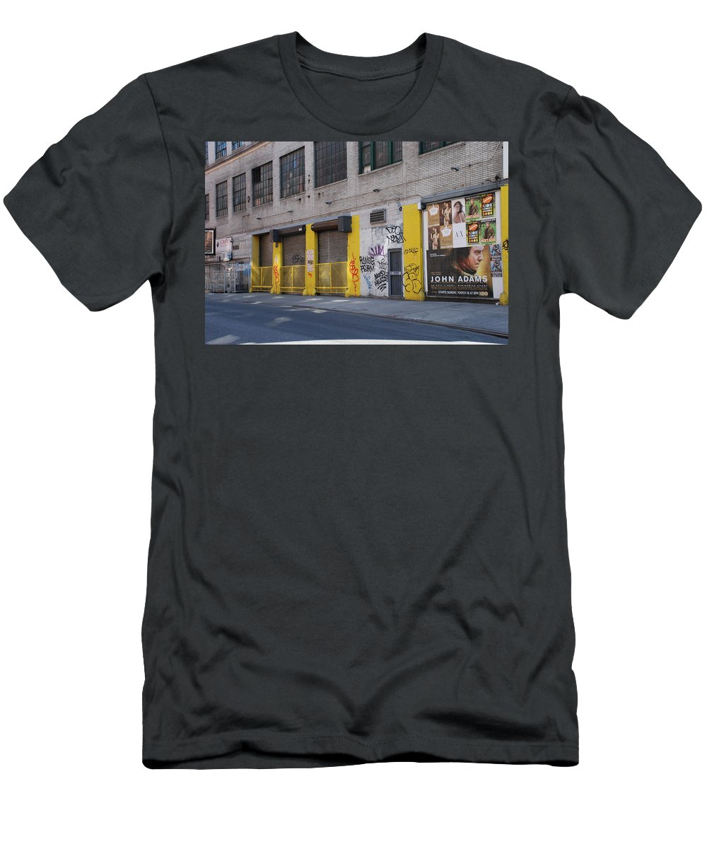 Architecture Men's T-Shirt (Athletic Fit) featuring the photograph John Adams by Rob Hans