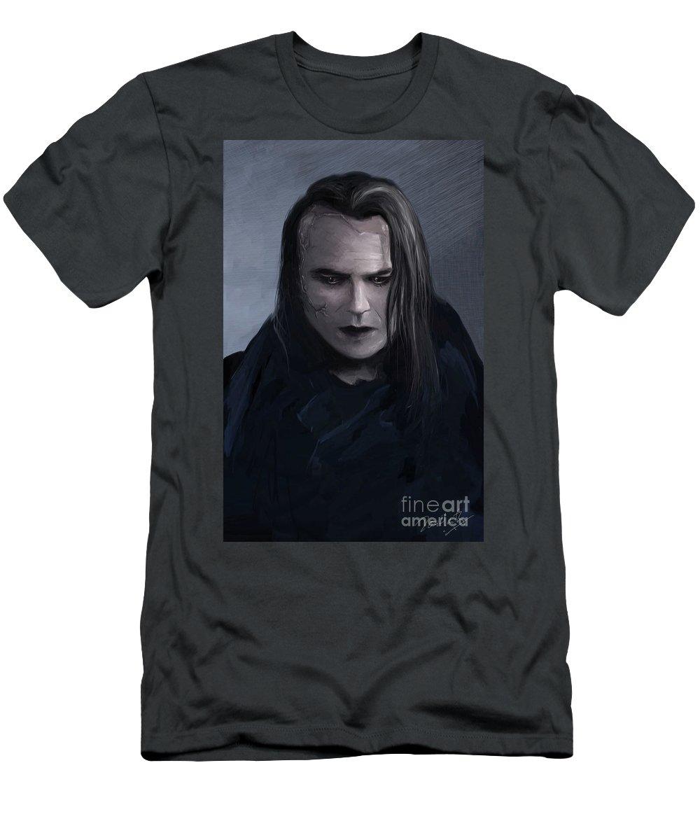 John Clare Men's T-Shirt (Athletic Fit) featuring the digital art John Clare by Dori Hartley