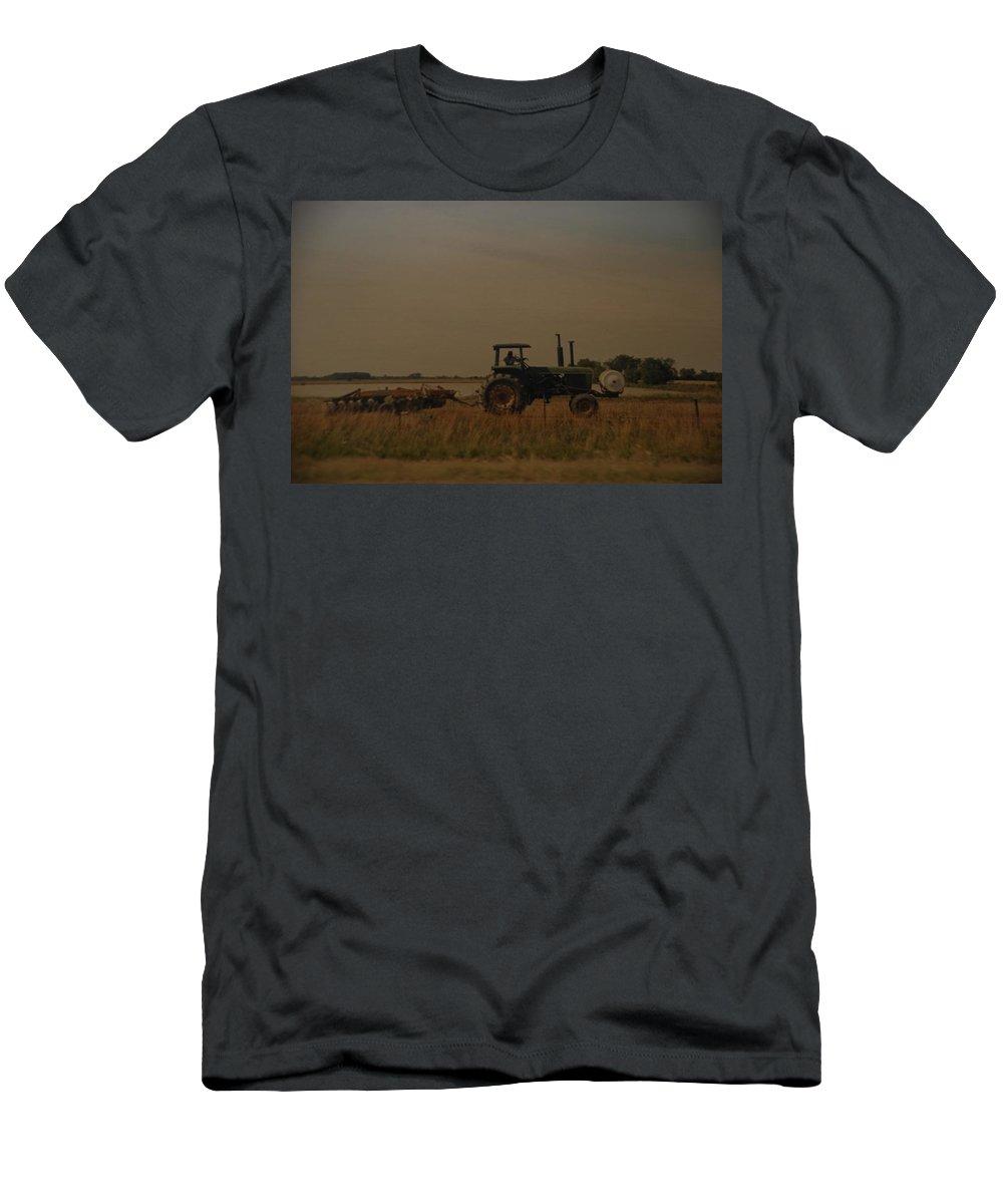 Arkansas T-Shirt featuring the photograph John Deere Arkansas by Rob Hans