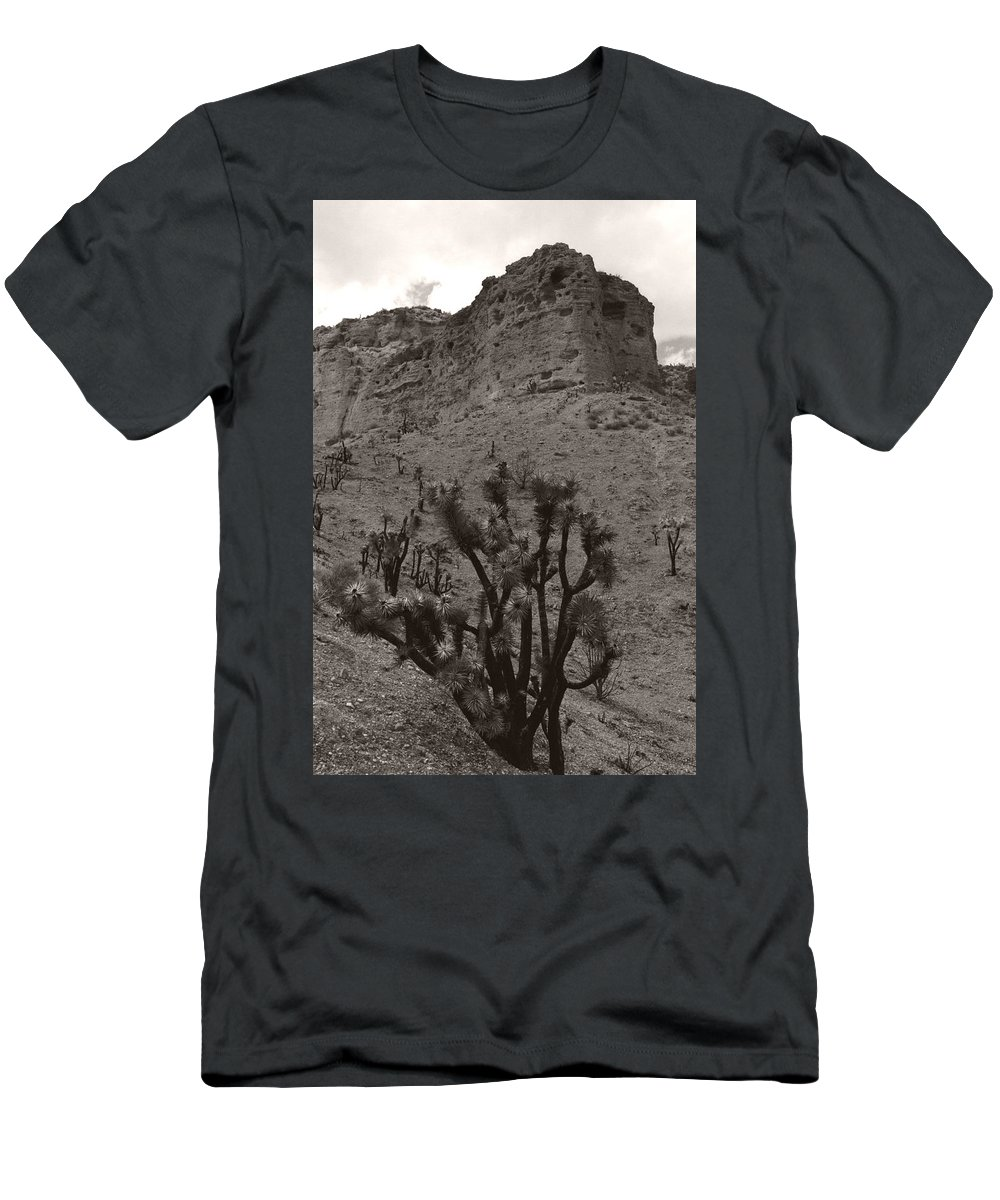 Men's T-Shirt (Athletic Fit) featuring the photograph Joshua Hillside by Heather Kirk