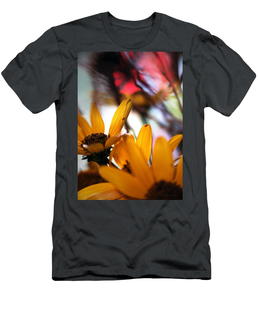 Flowers Men's T-Shirt (Athletic Fit) featuring the photograph Joy... by Arthur Miller