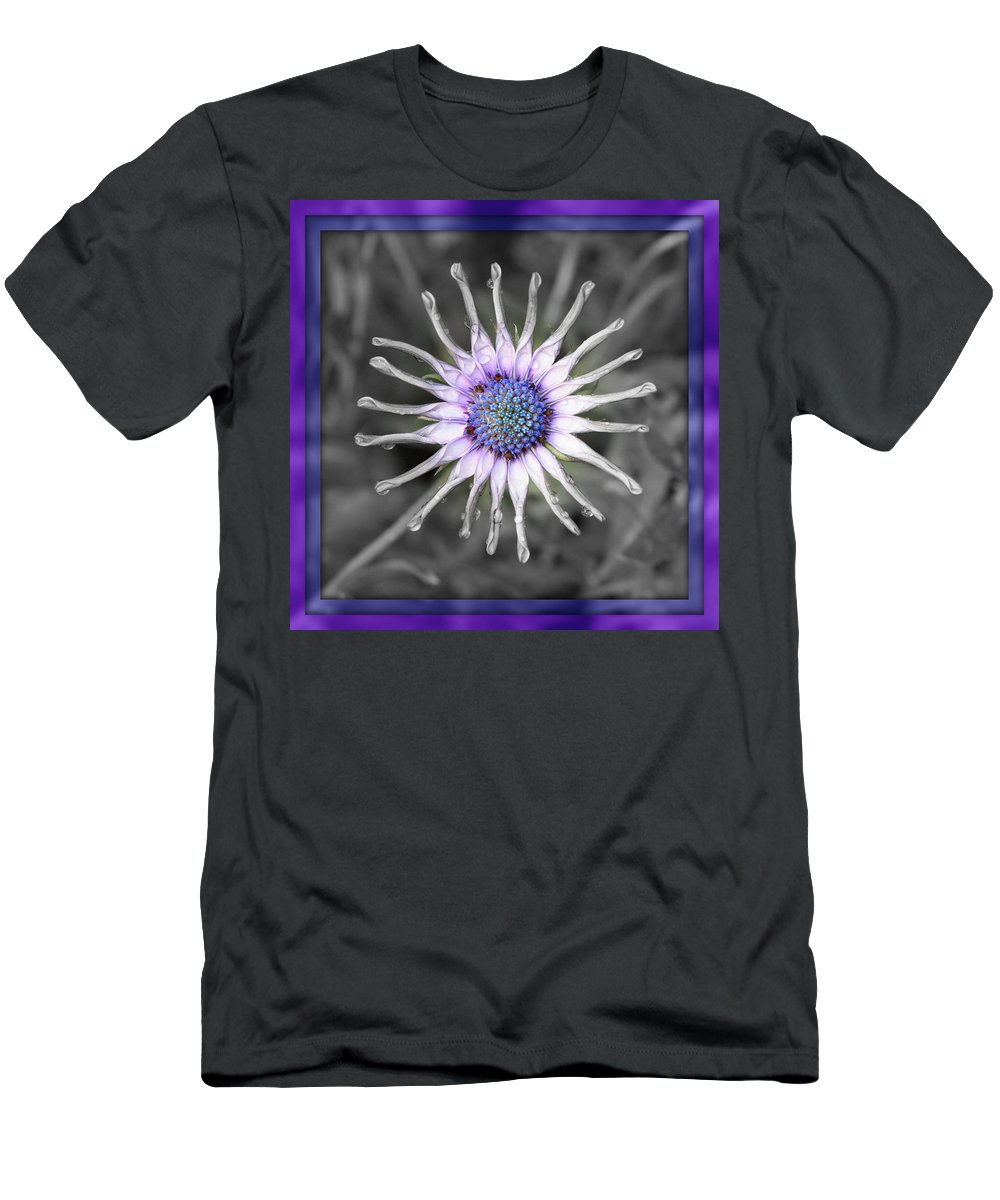 Digital Art Men's T-Shirt (Athletic Fit) featuring the photograph Joy Within by Carol Groenen