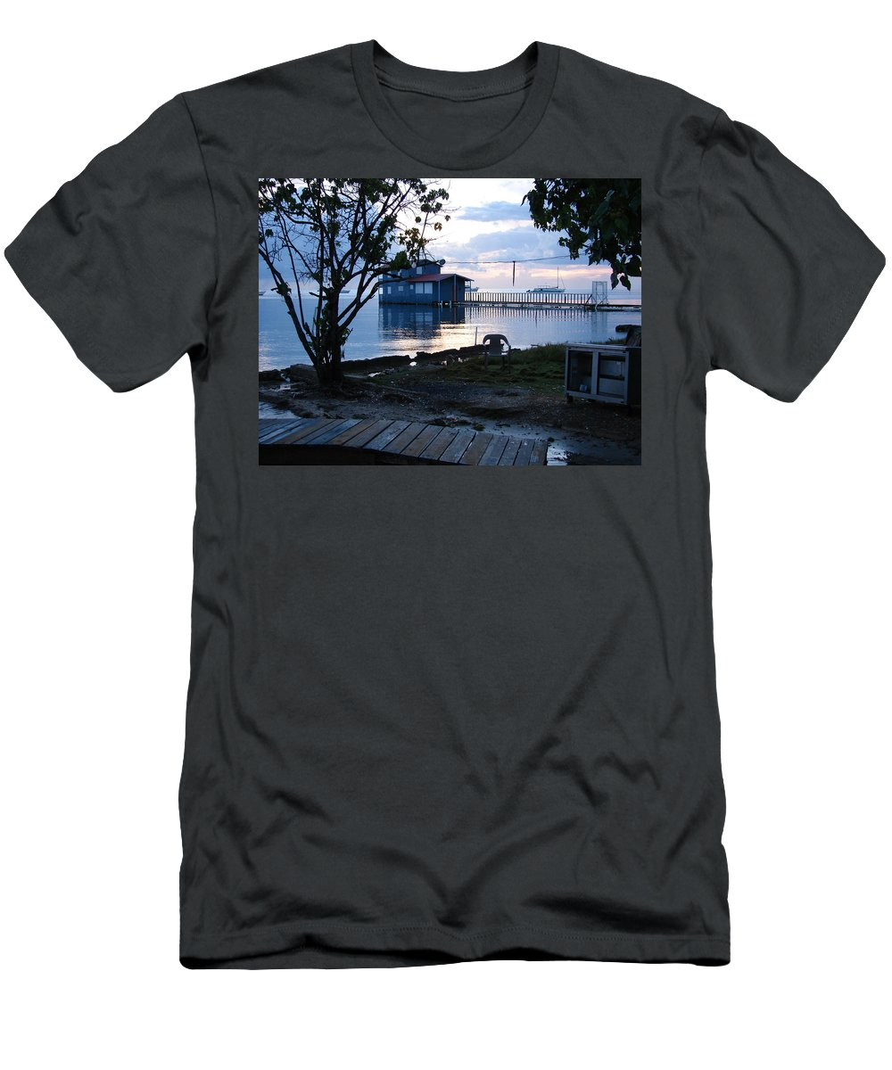 Men's T-Shirt (Athletic Fit) featuring the photograph Joyuda by Ramon Reyes
