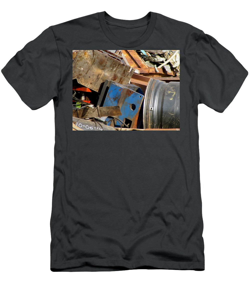 Photo Men's T-Shirt (Athletic Fit) featuring the photograph Junk 13 by Anita Burgermeister