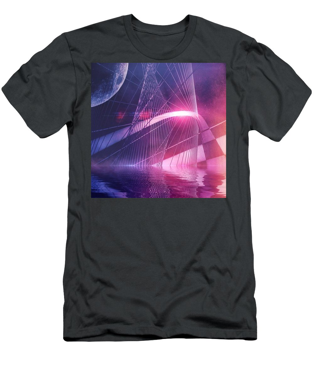 Cinematic T-Shirt featuring the photograph Just Beyond The Surface by Bob Hedlund