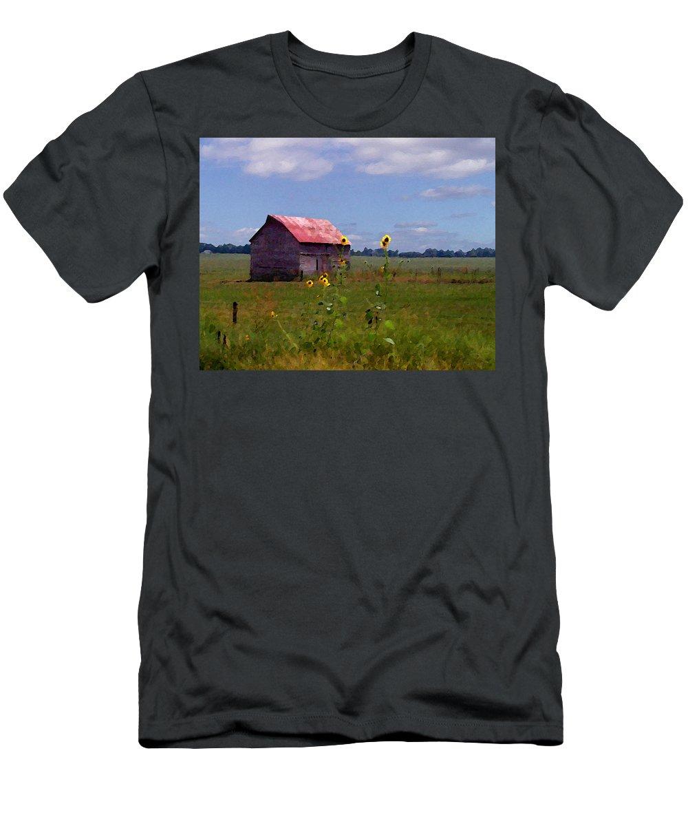 Landscape T-Shirt featuring the photograph Kansas Landscape by Steve Karol