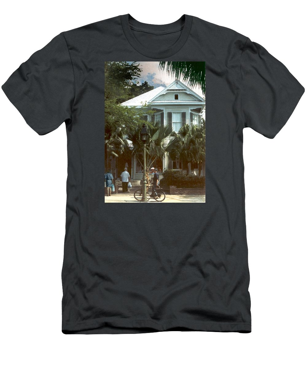 Historic T-Shirt featuring the photograph Keywest by Steve Karol