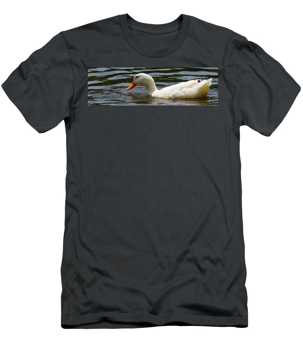 T-Shirt featuring the photograph Lady by Tony Umana