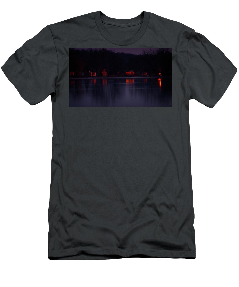 Lake Minnetonka T-Shirt featuring the photograph Lake Minnetonka Sunset by Cynthia Dickinson