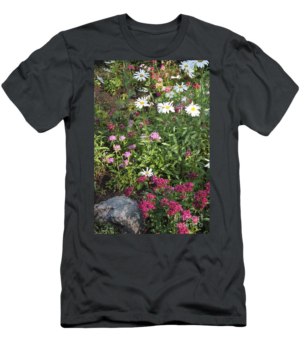 Garden Men's T-Shirt (Athletic Fit) featuring the photograph Lake Tahoe Garden by Carol Groenen