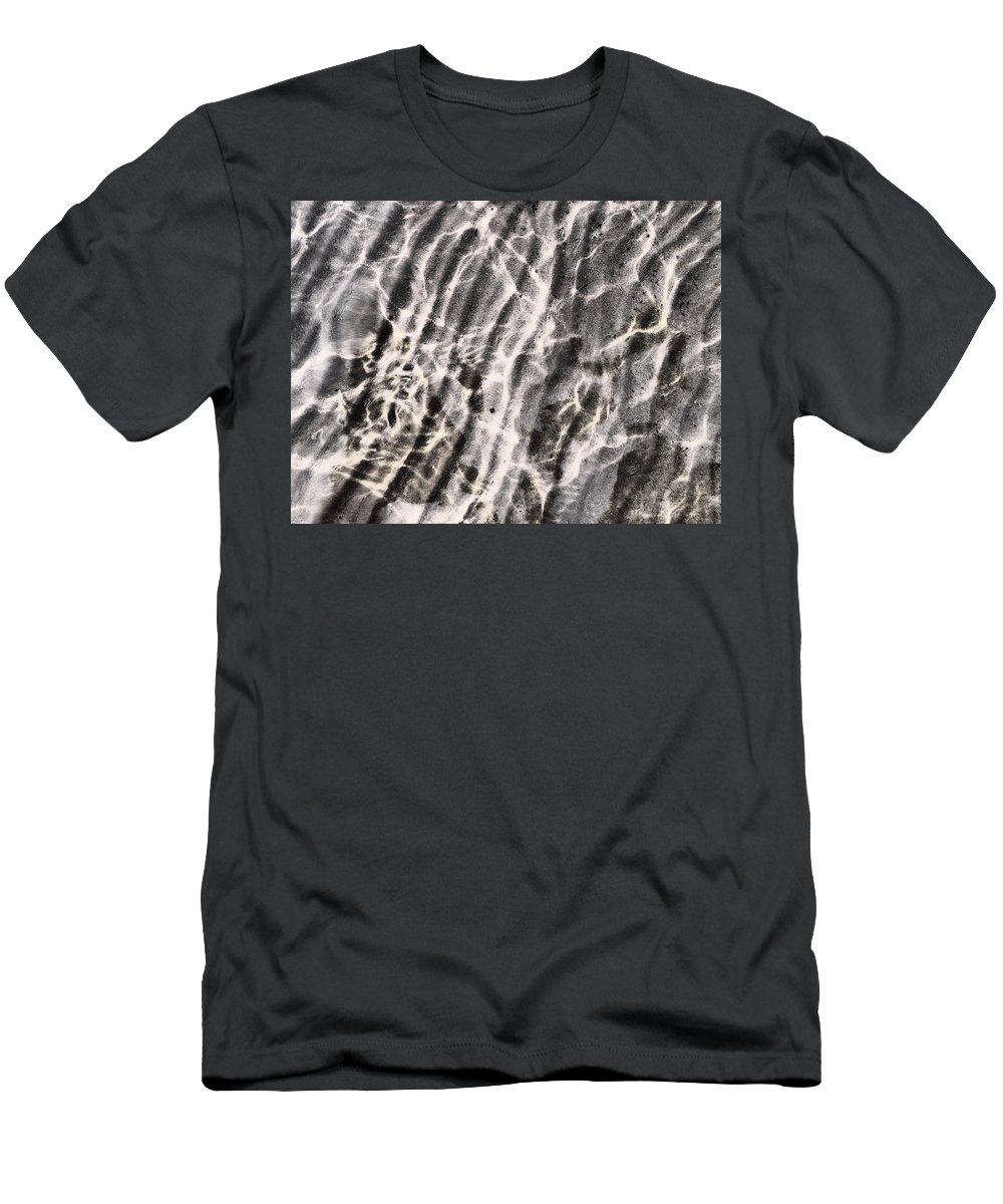 Haukkaj�rvi Men's T-Shirt (Athletic Fit) featuring the photograph Lakescape 2 by Jouko Lehto