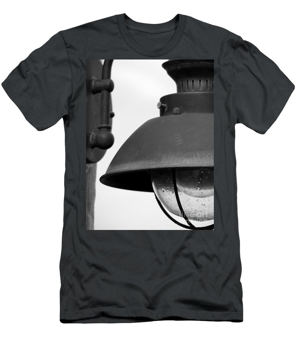 Lamppost Men's T-Shirt (Athletic Fit) featuring the photograph Lamp Post by Amanda Barcon