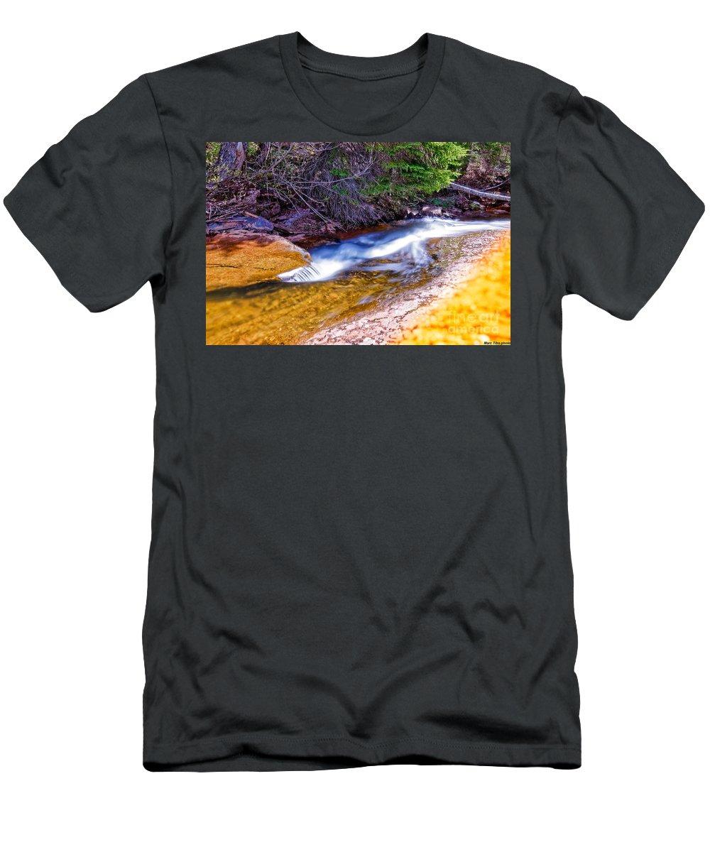 Men's T-Shirt (Athletic Fit) featuring the photograph Landscape4 Juin 2018-3 by Marc Thibault