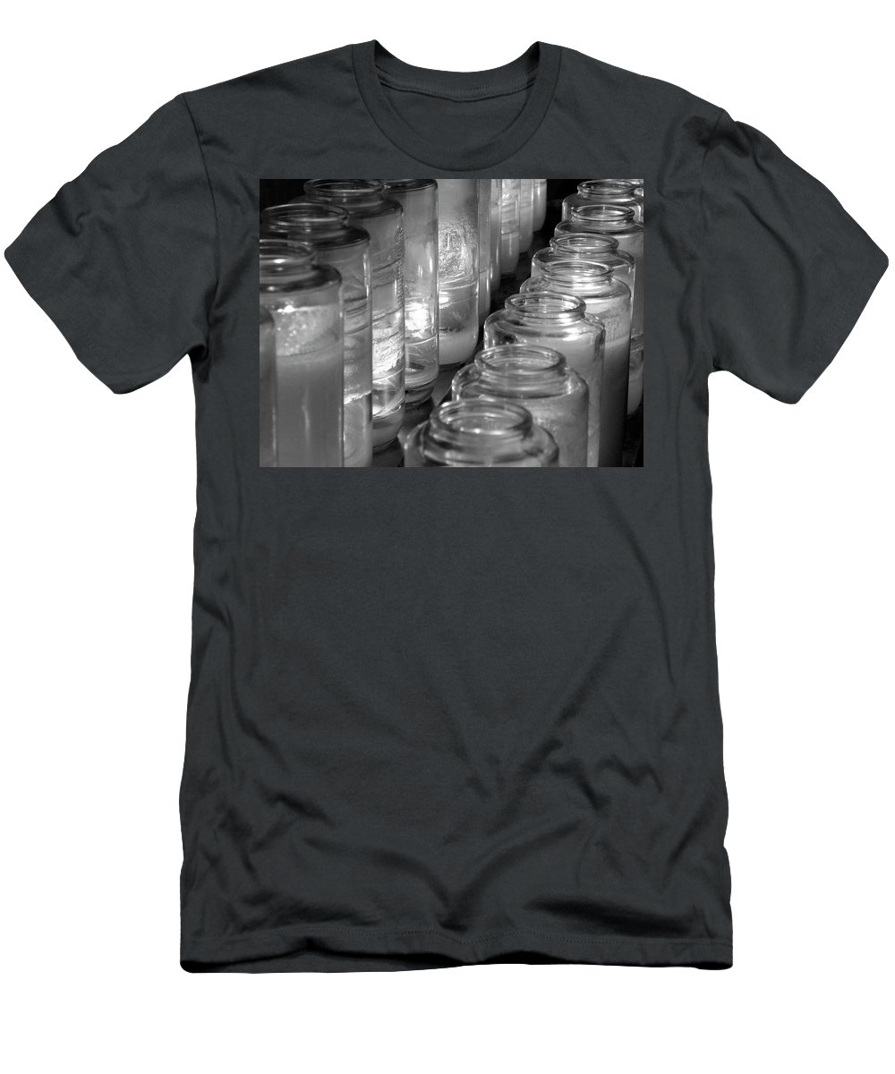 Church Men's T-Shirt (Athletic Fit) featuring the photograph Last Hopes by Shannon Turek