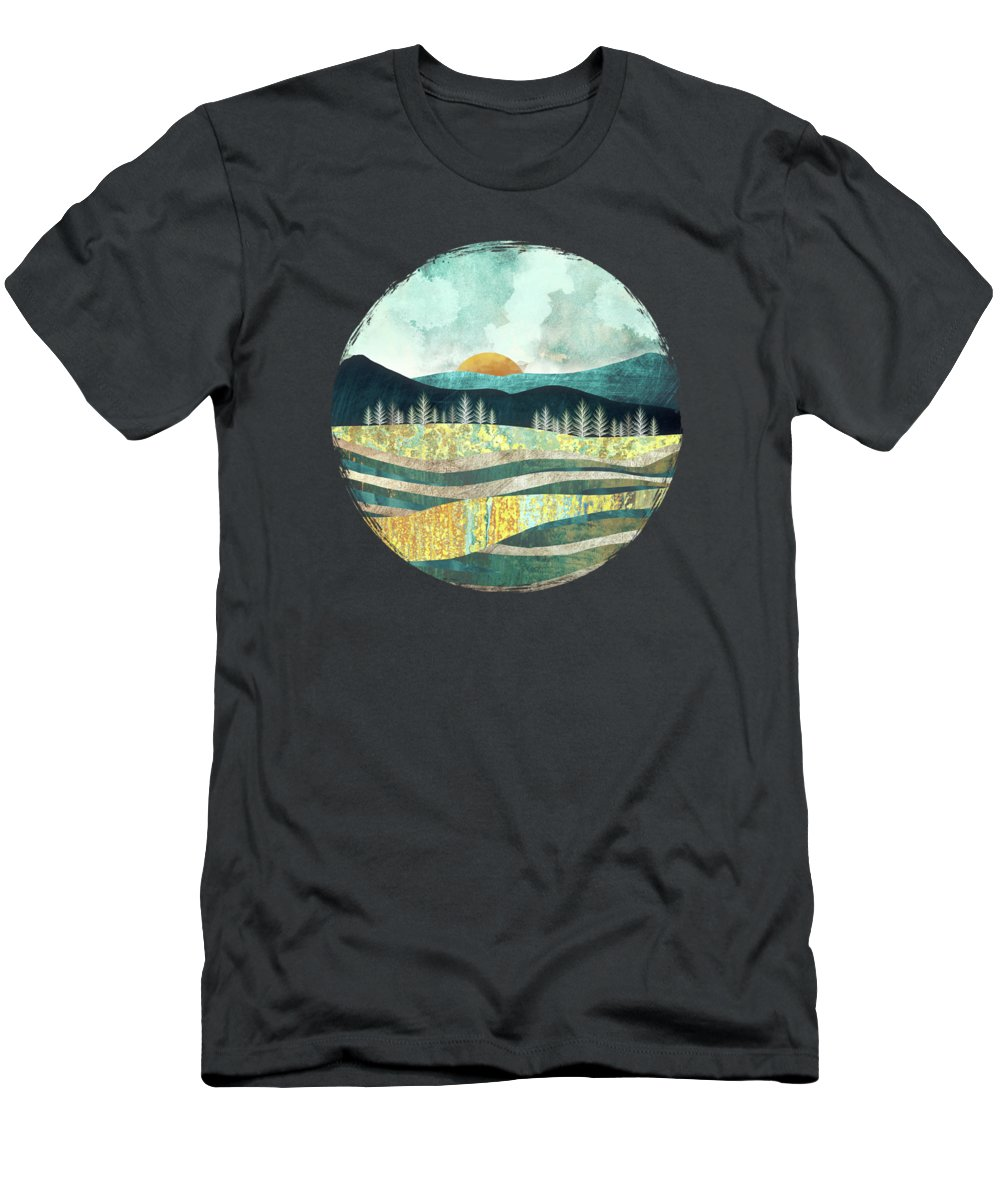 Summer T-Shirt featuring the digital art Late Summer by Spacefrog Designs