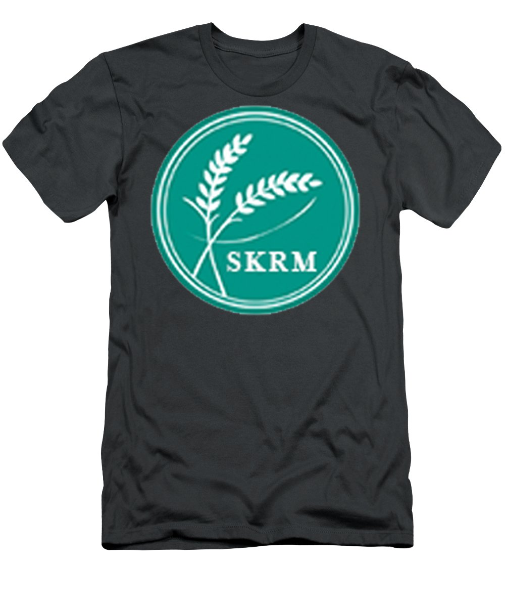 Indian Basmati Rice Exporters Men's T-Shirt (Athletic Fit) featuring the glass art Leading Suppliers Of Basmati Rice In Haryana, India. by SKRM India
