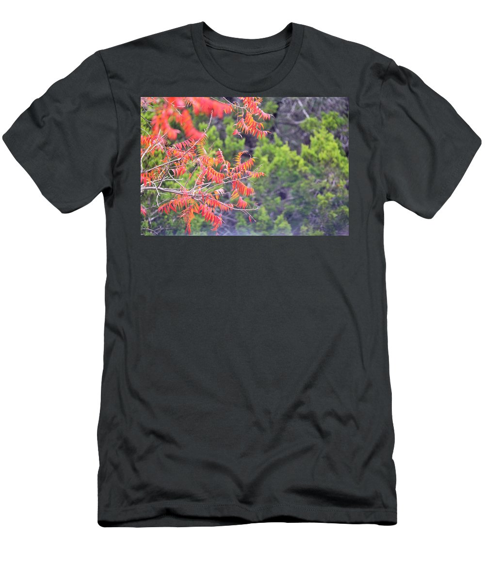 Men's T-Shirt (Athletic Fit) featuring the photograph Leafs 008 by Jeff Downs