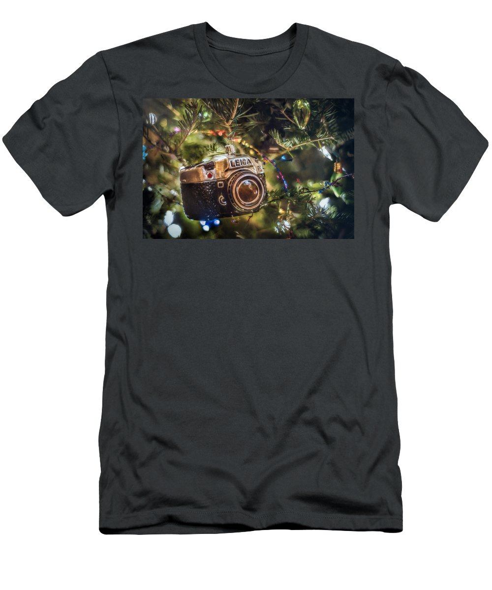 Scott Norris Photography. Christmas Tree T-Shirt featuring the photograph Leica Christmas by Scott Norris