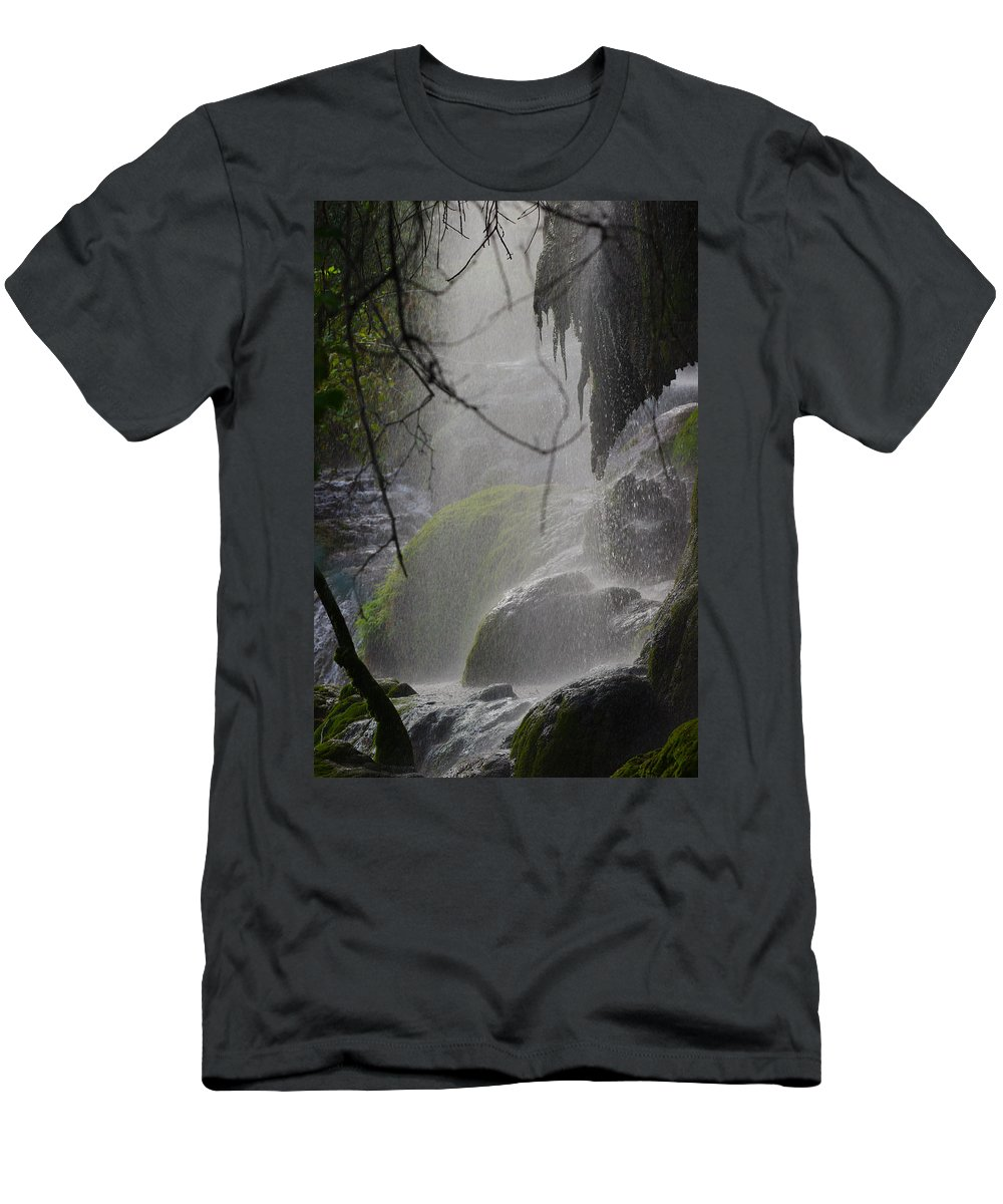James Smullins Men's T-Shirt (Athletic Fit) featuring the photograph Let There Be Light by James Smullins
