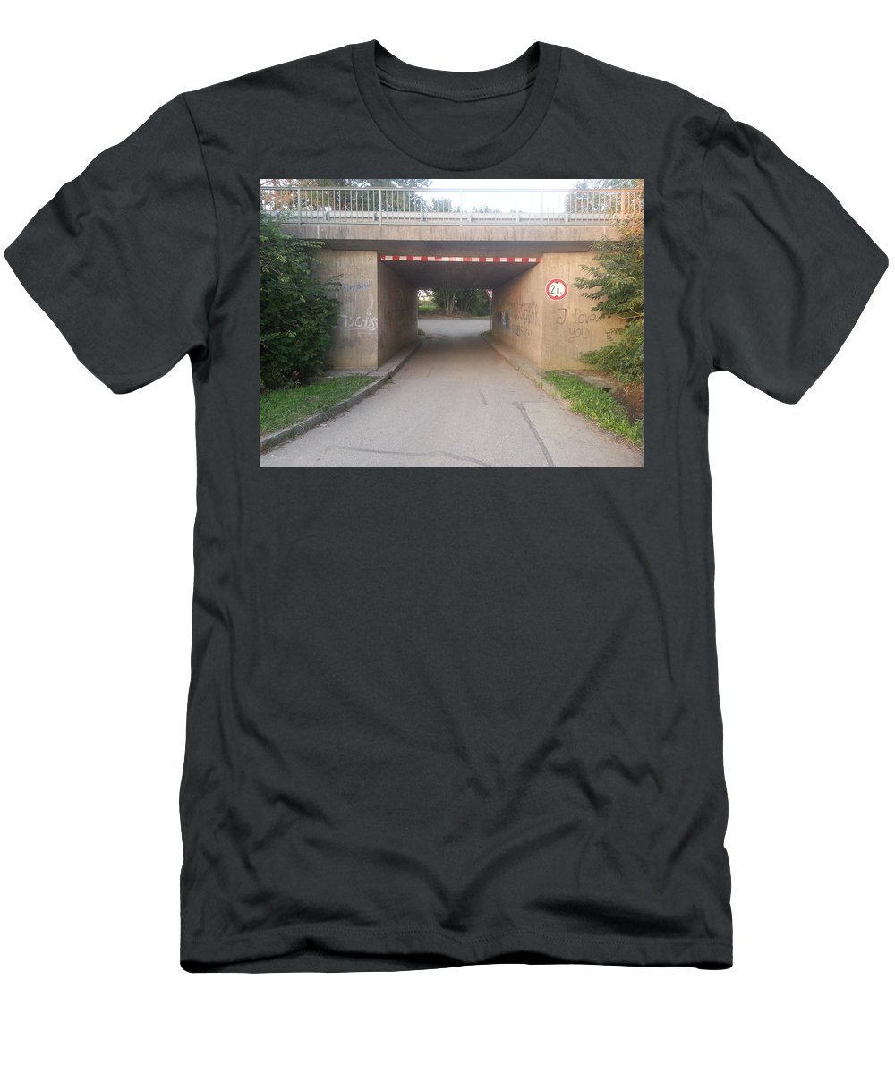 Bavaria Hard Times Men's T-Shirt (Athletic Fit) featuring the photograph Let's Get Lost by Me