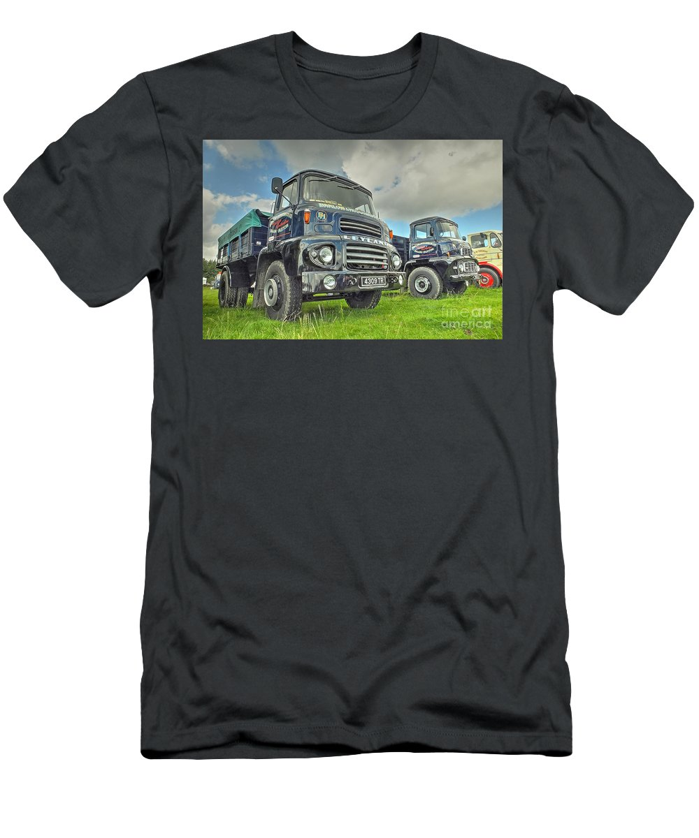 Lad Men's T-Shirt (Athletic Fit) featuring the photograph Leyland Comet by Catchavista