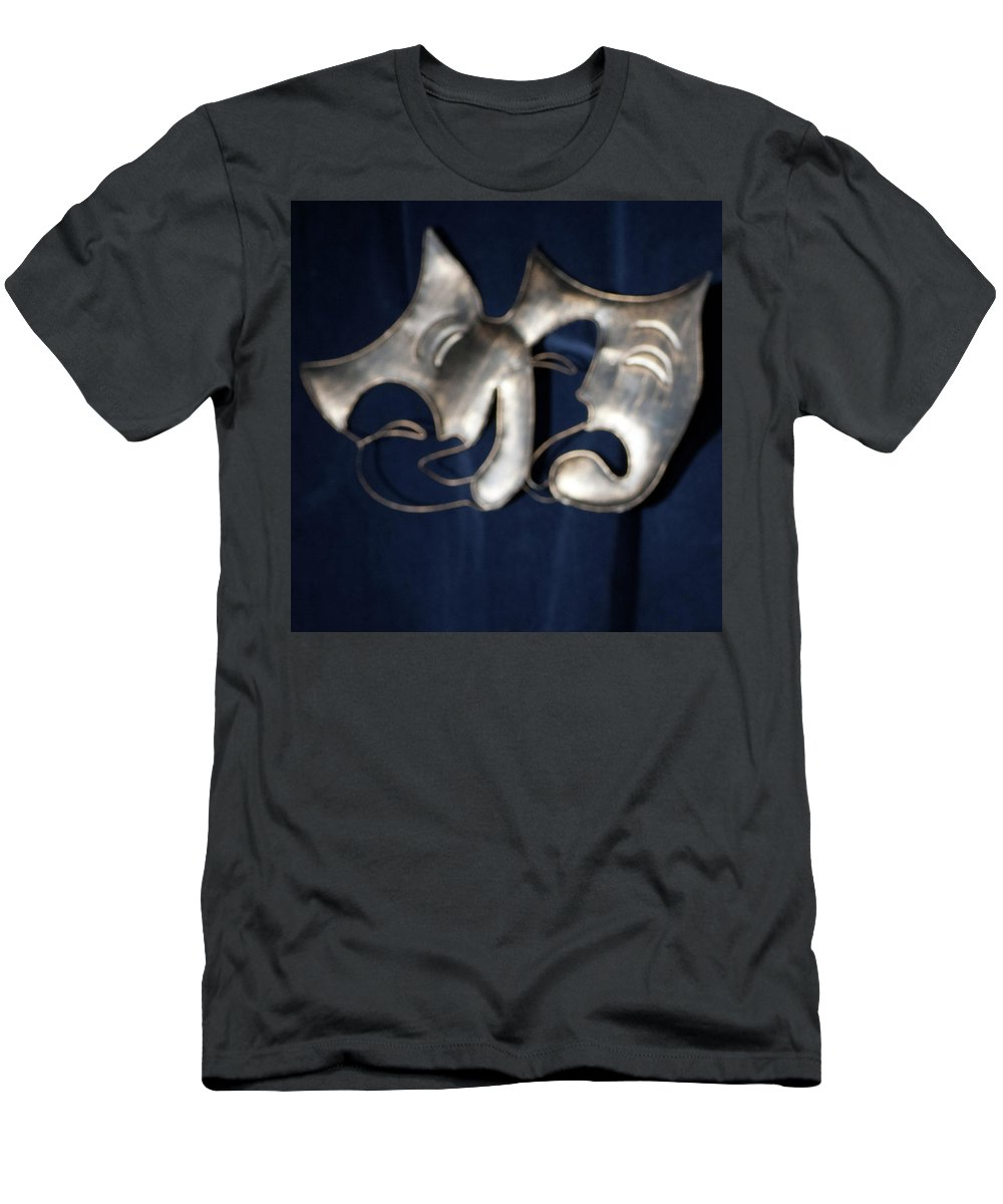 Logo T-Shirt featuring the photograph Logo for Theater Productions by Alan D Smith