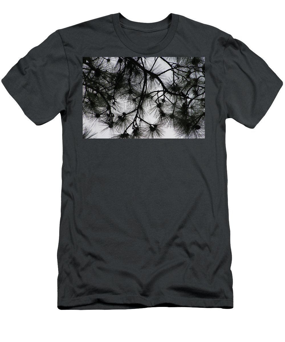 Pines Men's T-Shirt (Athletic Fit) featuring the photograph Longleaf Lace by Laura Martin
