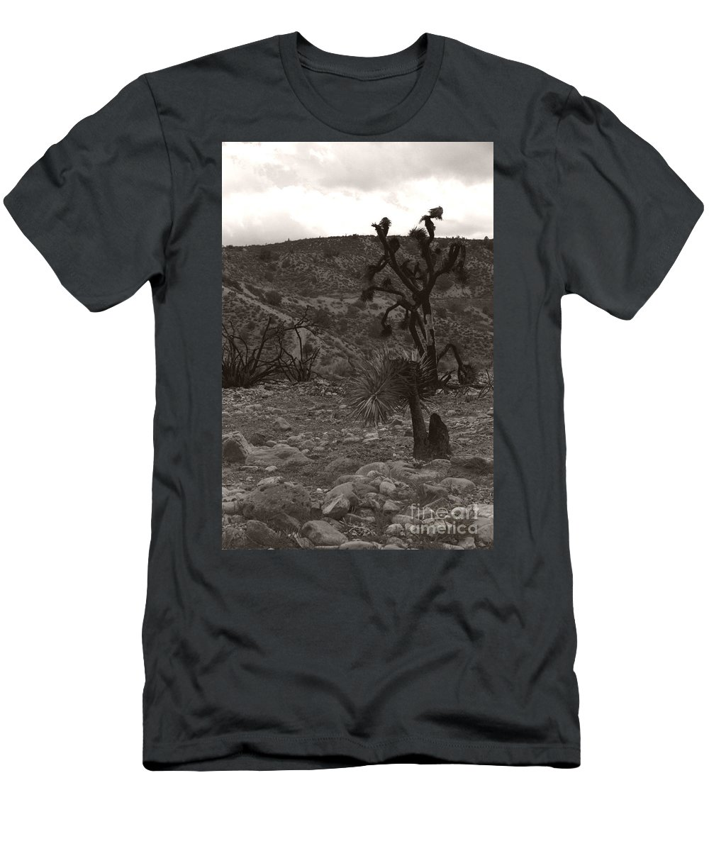 Men's T-Shirt (Athletic Fit) featuring the photograph Looking To The Earth by Heather Kirk
