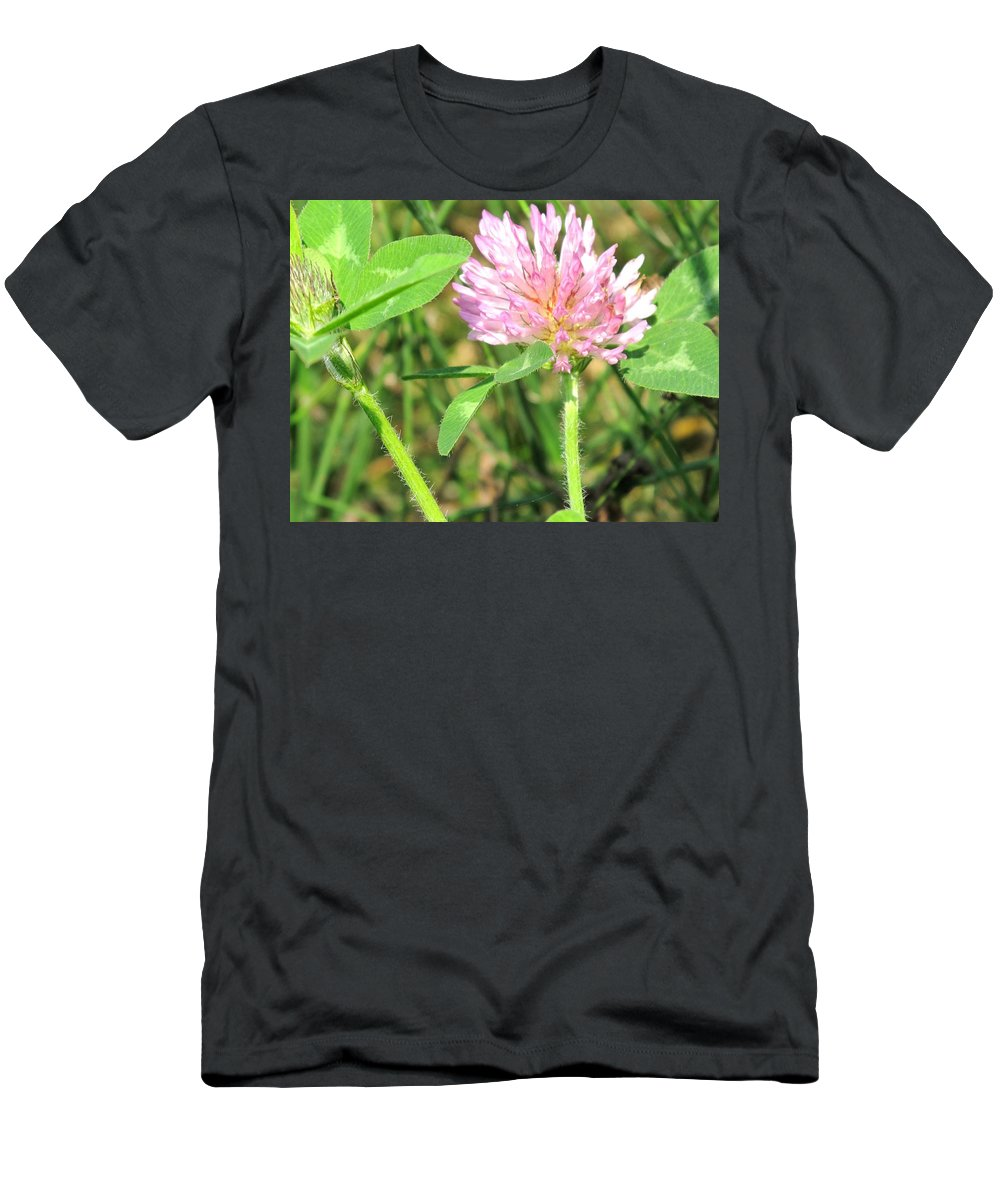 Clover Men's T-Shirt (Athletic Fit) featuring the photograph Lucky Clover by Ian MacDonald