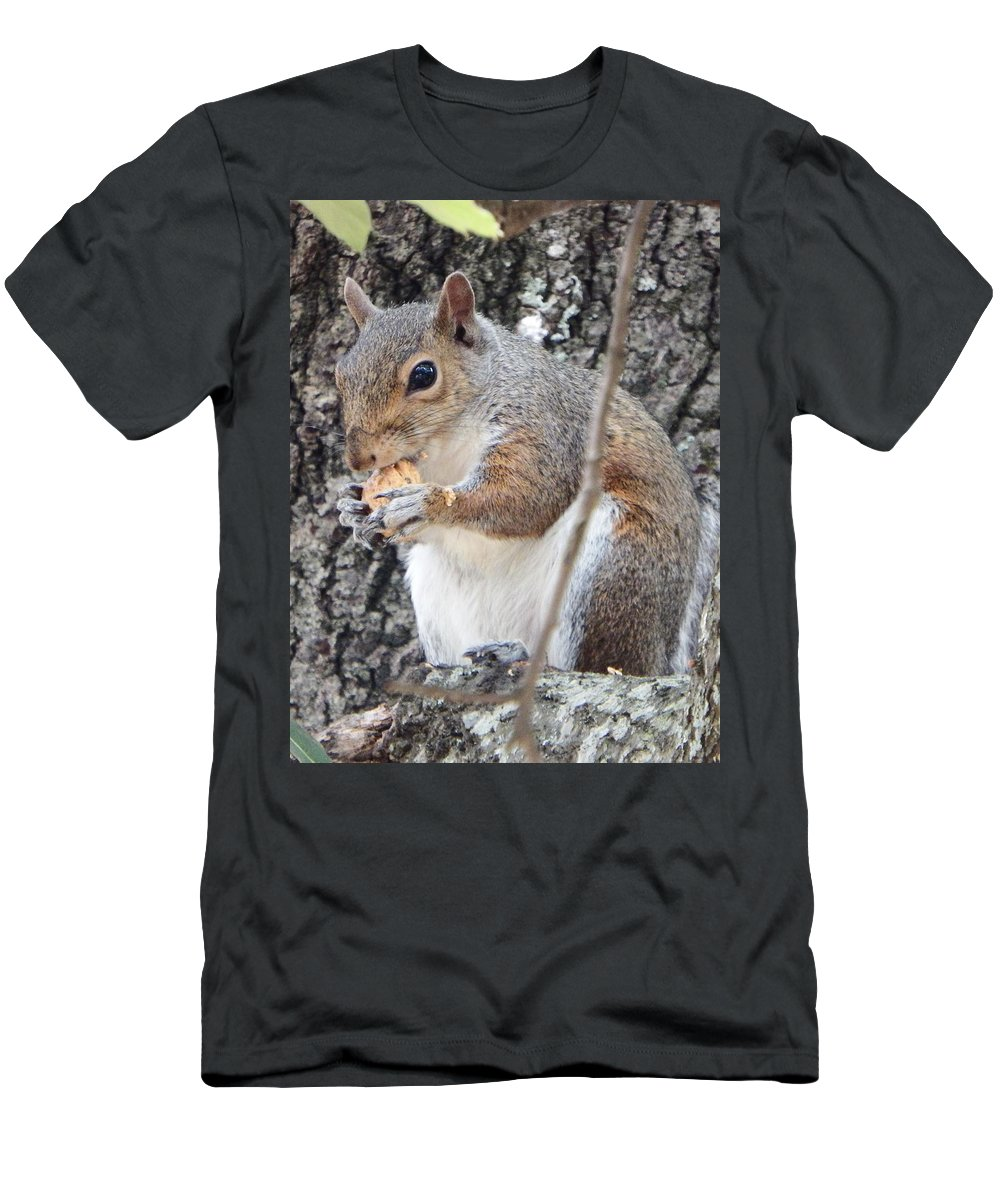 Men's T-Shirt (Athletic Fit) featuring the photograph Lunch 2 by Mark Dibble