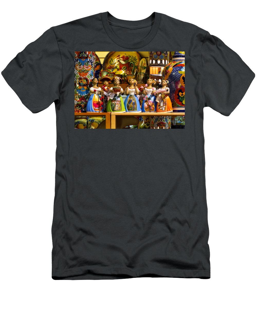 Lupita Men's T-Shirt (Athletic Fit) featuring the photograph Lupitas by Steven Sparks