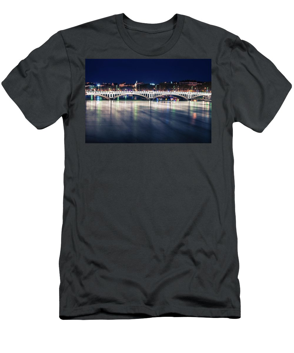 Men's T-Shirt (Athletic Fit) featuring the photograph Lyon by Victor Aga