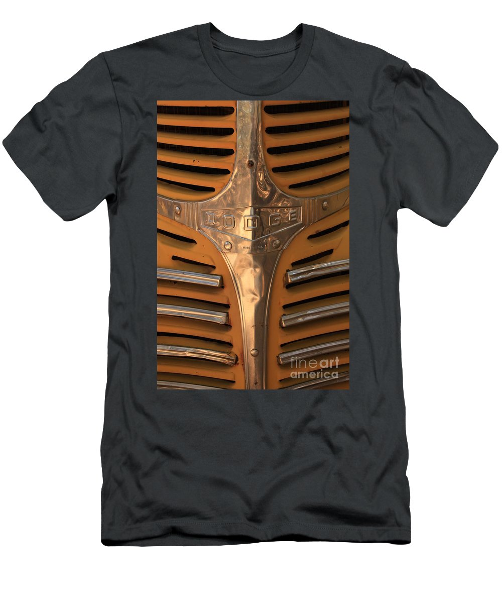 Dodge Men's T-Shirt (Athletic Fit) featuring the photograph Made In Usa by Carol Groenen
