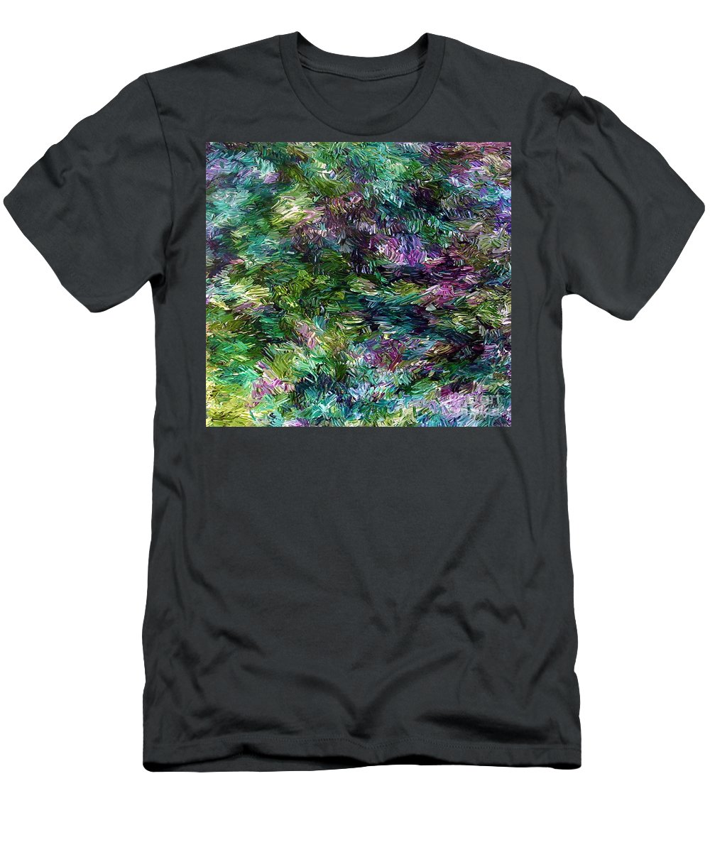 Magic Men's T-Shirt (Athletic Fit) featuring the painting Magic by Dawn Hough Sebaugh