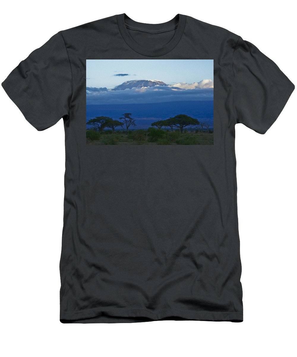 Africa T-Shirt featuring the photograph Magnificent Kilimanjaro by Michele Burgess