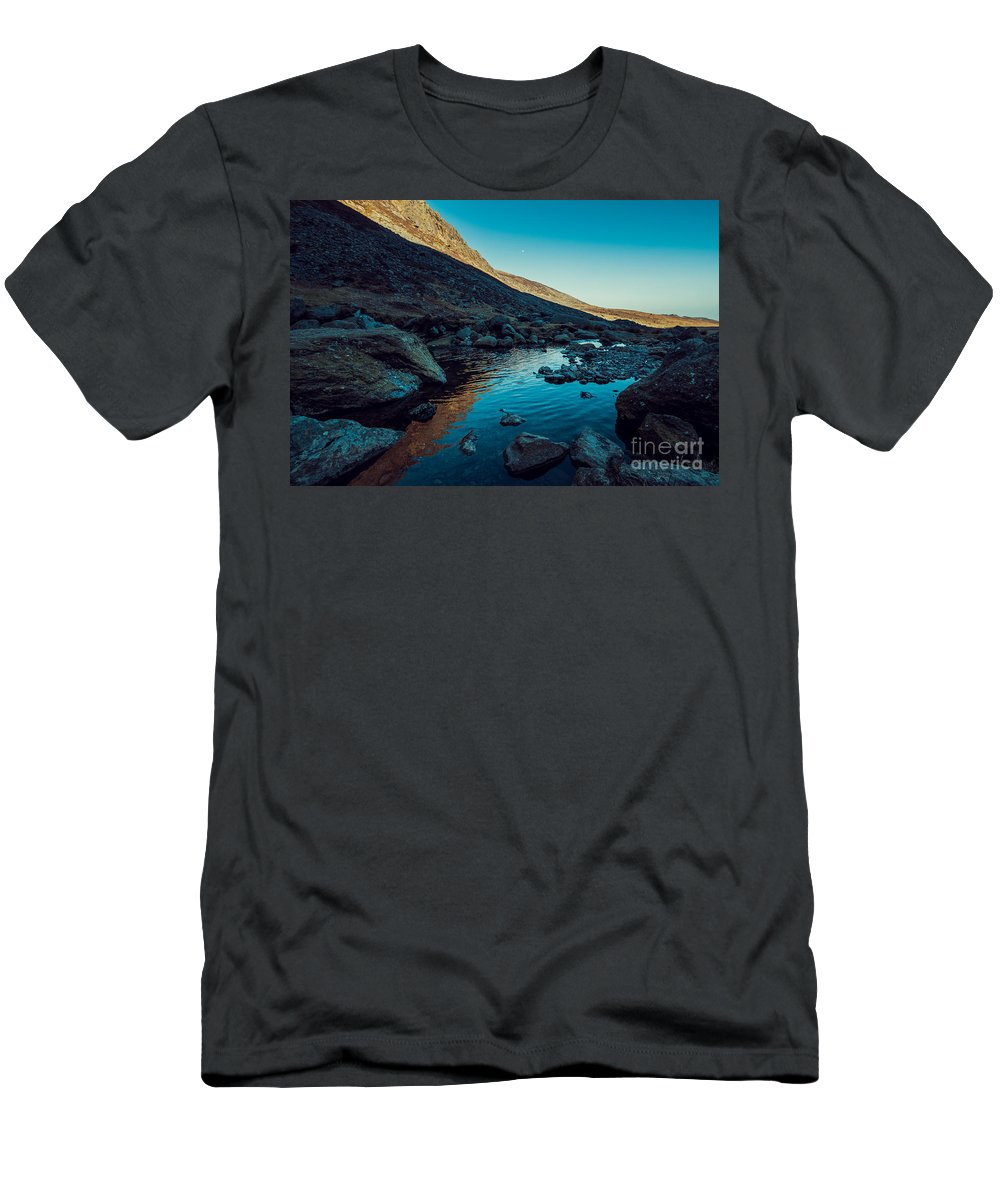 Men's T-Shirt (Athletic Fit) featuring the photograph Mahon River by Marc Daly