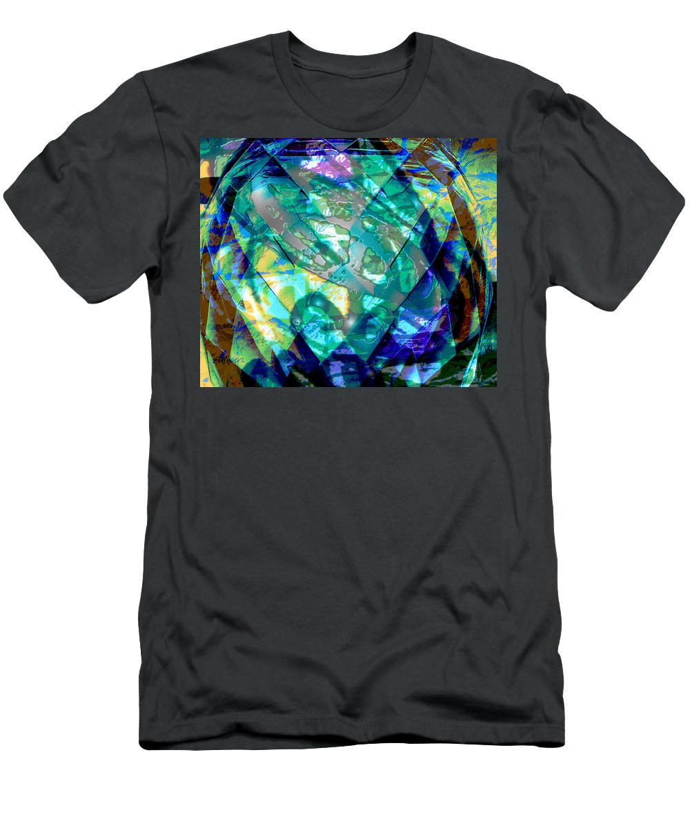 Abstract T-Shirt featuring the digital art Mainspring of Time by Seth Weaver