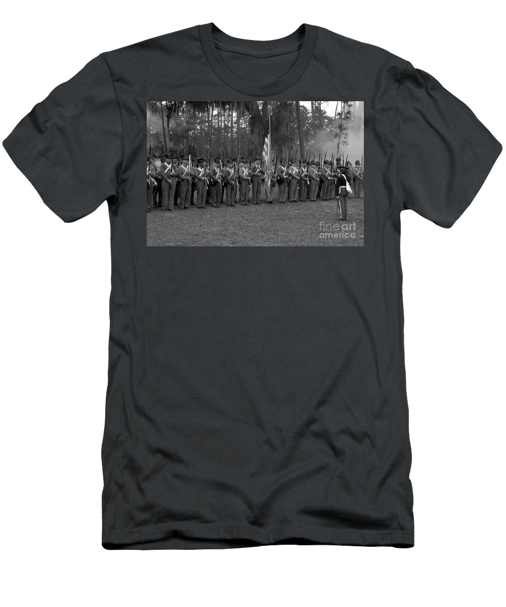 Dade Battlefield Men's T-Shirt (Athletic Fit) featuring the photograph Major Dade's Men by David Lee Thompson